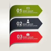 Infographic tasarım. — Stok Vektör