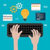Software design. — Stock Vector