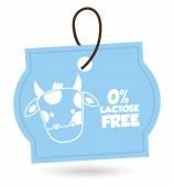 Lactose free — Stock Vector