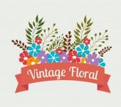 Flowers design. — Stock Vector