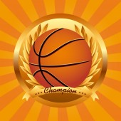 Basketball-sport — Stockvektor