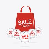 Shopping design. — Stock Vector