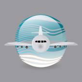 飞机设计. — 图库矢量图片