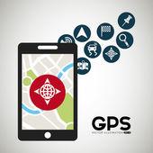 Gps concept — Stock Vector