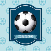 Sport emblem design — Stock Vector
