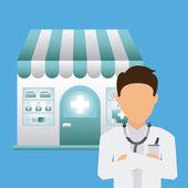 Medica — Vettoriale Stock