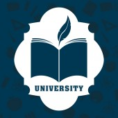 University concept — Stock Vector