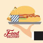 Продовольственная поставка — Cтоковый вектор
