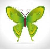Butterfly design. — Stockvektor