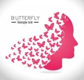 Butterfly design. — Stock Vector