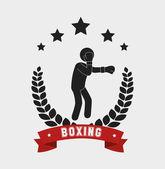Boxing design. — Stock Vector