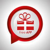 App libre — Vector de stock