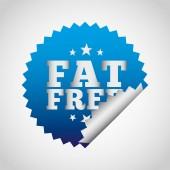Vet gratis — Stockvector