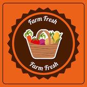Farm fresh — Stock Vector