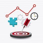 Solutions design. — Stock Vector