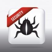 Дизайн системы безопасности. — Cтоковый вектор