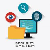 Security system design. — Stock Vector