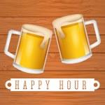 kaltes bier — Stockvektor  #76154567