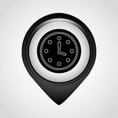 Pointer office icon — Stock Vector