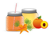 Smoothie product  — Stock Vector