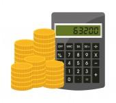 Pengar-ikonen — Stockvektor