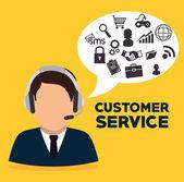 Customer design. — Stock Vector