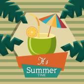 Summer design. — Stock Vector