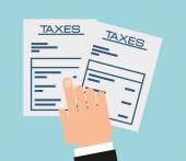 Tax concept — Stock Vector