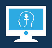 Computing design, — Stock Vector