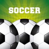 Soccer sport — Stock Vector