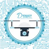 Drone technology  — Stock Vector