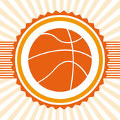 Basketball sport — Stock Vector