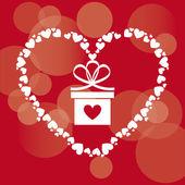 Love card  — 图库矢量图片