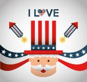 United states emblem  — Stock Vector