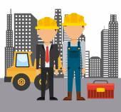 Construction concept  — Stock Vector