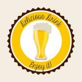 Dlicious drink  — Stock Vector