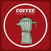おいしいコーヒー — ストックベクタ