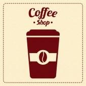 Vynikající káva — Stock vektor