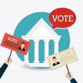 Głosowanie projektu. — Wektor stockowy