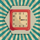 Zeit-digitales design. — Stockvektor