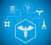 Медицинский дизайн. — Cтоковый вектор