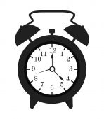 Time digital design. — Stock Vector