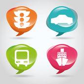 Transportation icon — Stock Vector