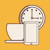 Biuro projektowe ikony — Wektor stockowy