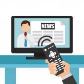 News concept design — Stock Vector