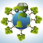 Go green design — Stock Vector #77606206