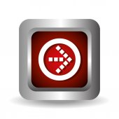 Digitale Bildgestaltung Pfeile — Stockvektor