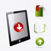 Download digital design — Stock Vector