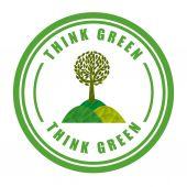 Zdaniem zielony design — Wektor stockowy
