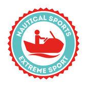 Extreme sport  design — Stock Vector